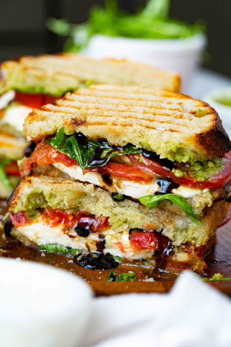Weekly meal plan: Grilled Caprese sandwiches at Oh, Sweet Basil