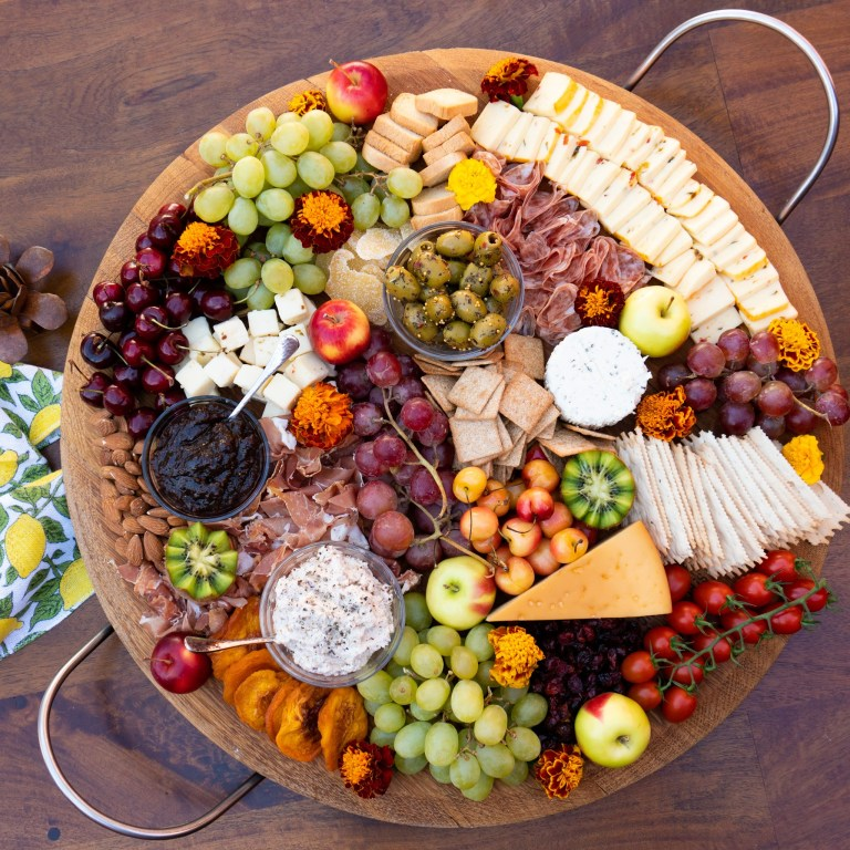 Weekly meal plan: 5 yummy no-cook dinner ideas, like this charcuterie board at Katy's Cookin