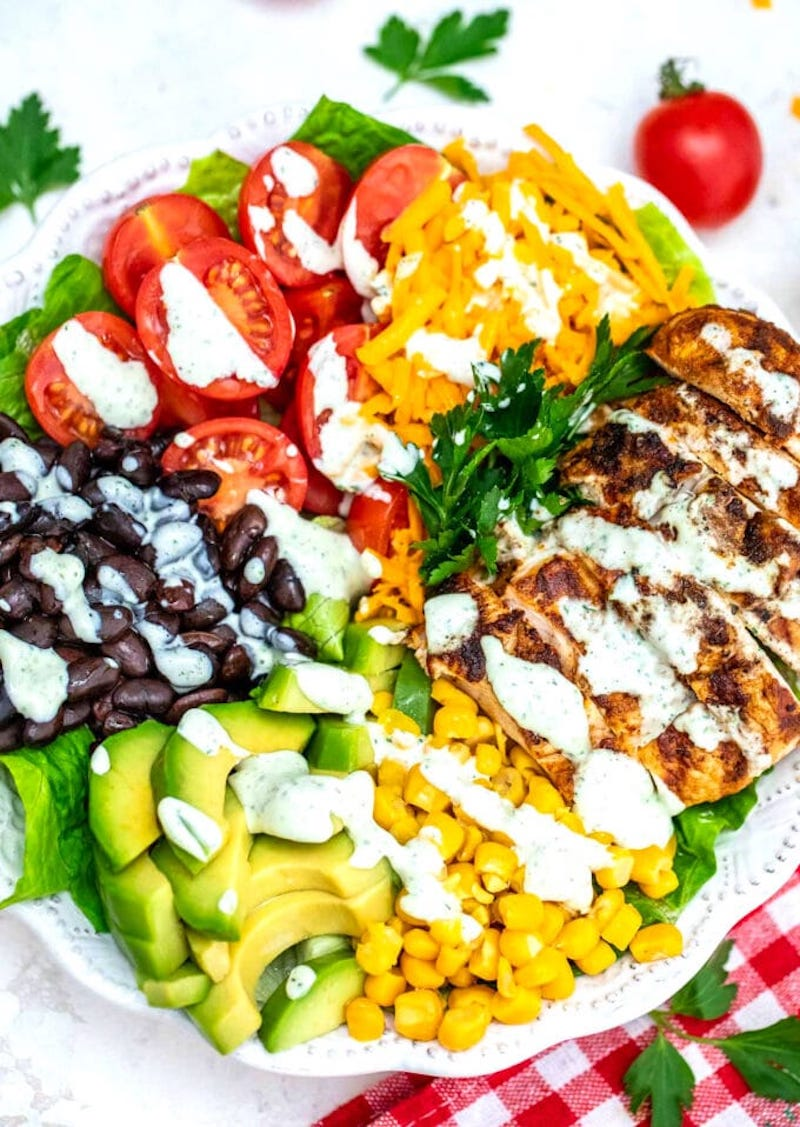 Weekly meal plan: Southwest Salad at Sweet and Savory Meals