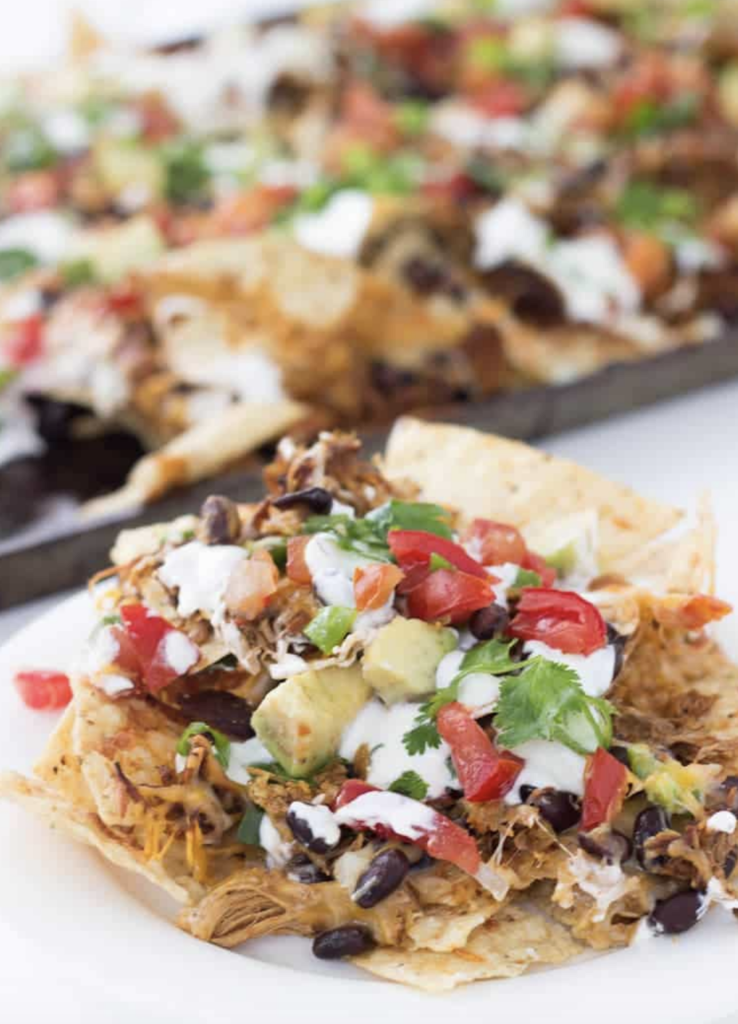 Shredded_BBQ_Chicken_Nachos_from_A Classic Twist