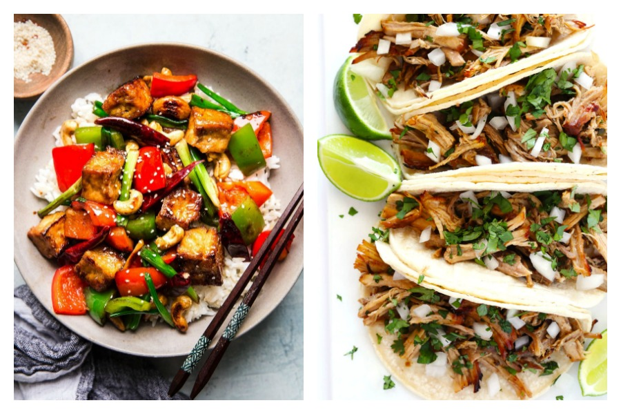 Weekly meal plan: 5 of our favorite recipes from meal plans in the past