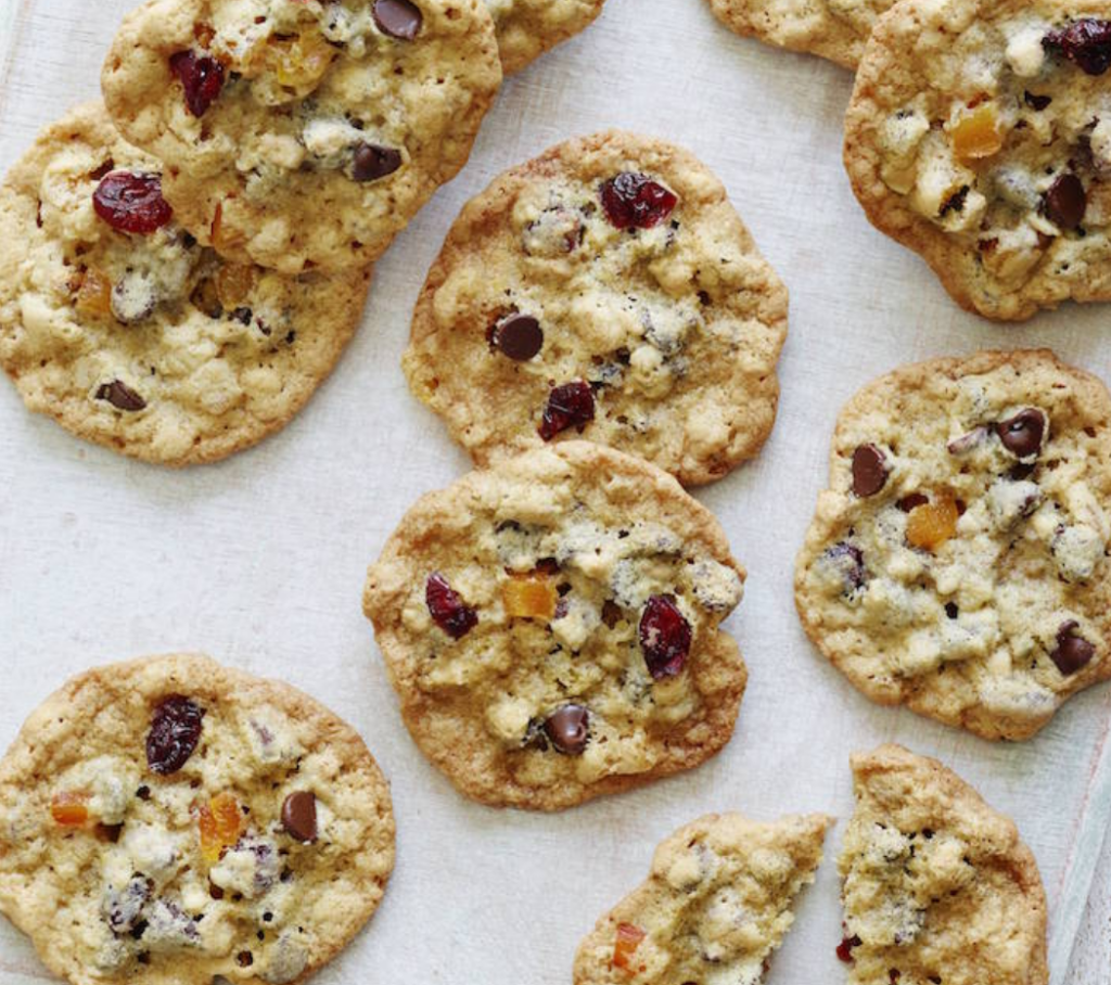 Fun breakfast alert! These breakfast cookies are healthy, wholesome, and we've got a tip for making them nut-free | recipe: What's Gaby Cooking