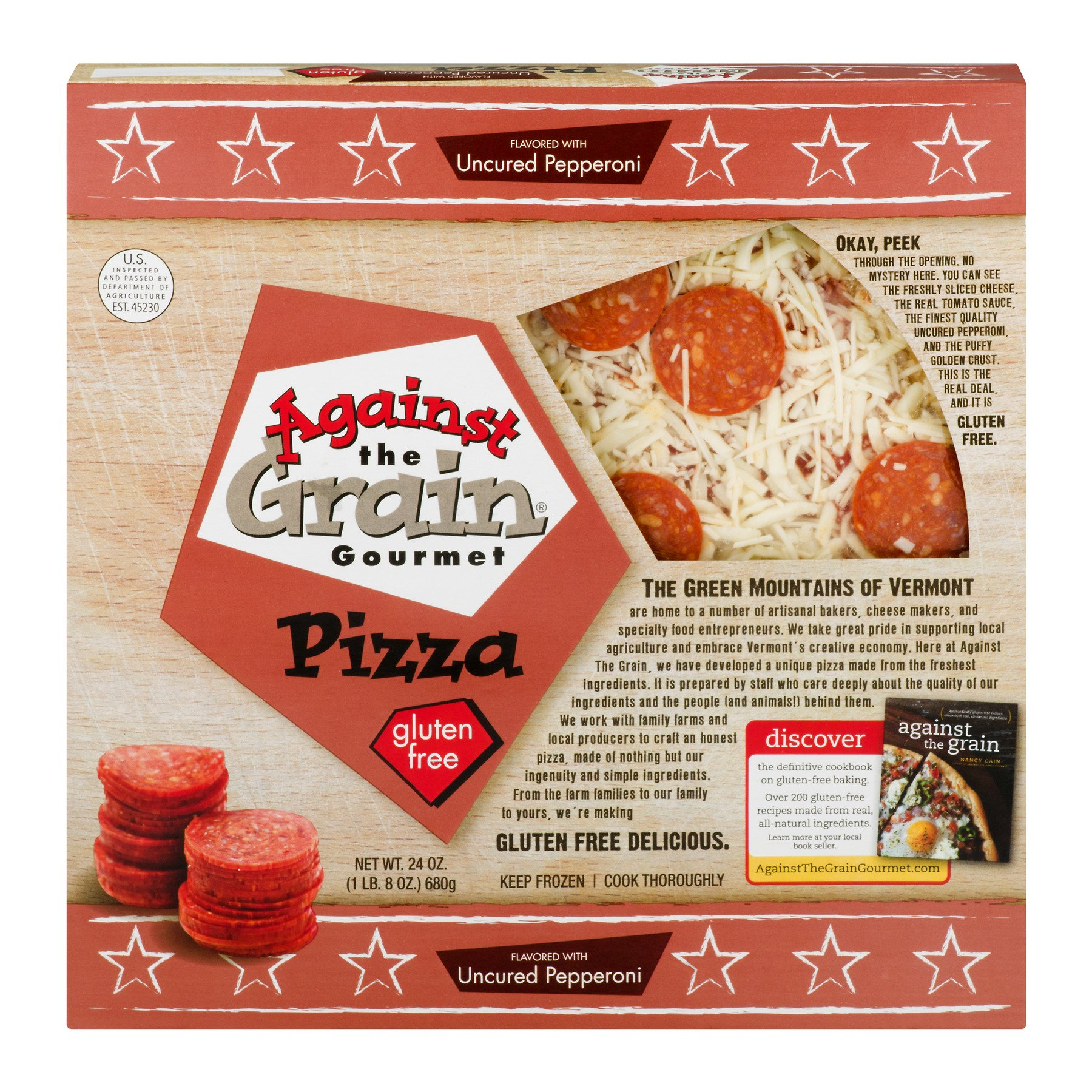 The best gluten-free pizza brands from our readers: Against the Grain Gluten-Free Pizza