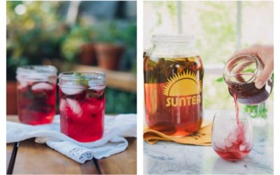 4 insanely delicious ways to change up your sun tea this summer. We're trying them all!