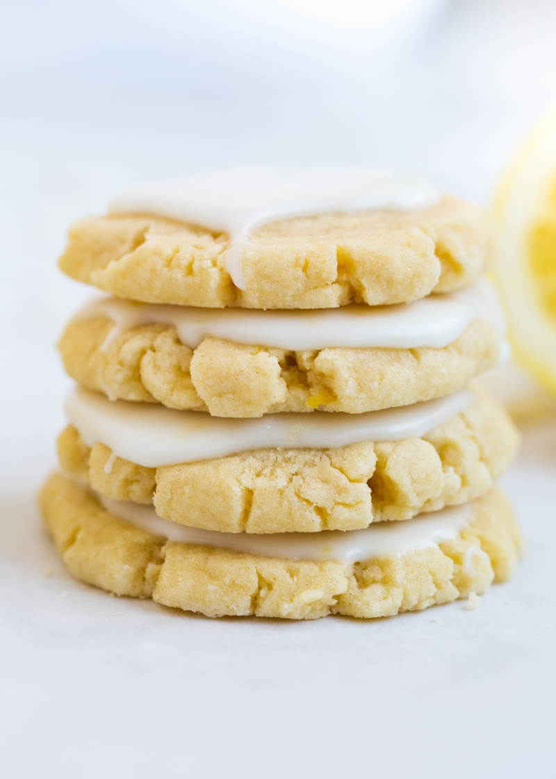 Weekly meal plan: Lemon glazed sugar cookies at I Heart Naptime