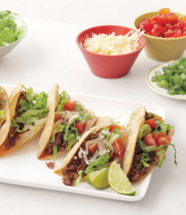 Weekly Meal Plan: Sarah's Tacos from EverydayFood at MarthaStewart.com