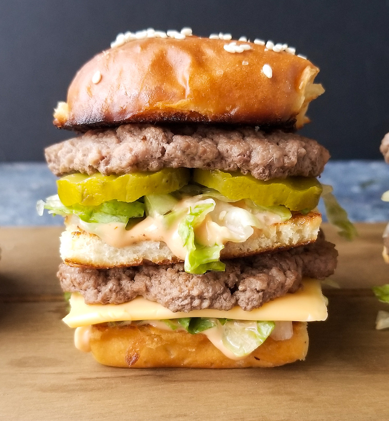 Weekly meal plan: Copycat BigMacs at Amanda Cooks and Styles