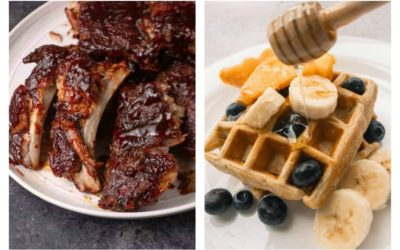 Weekly meal plan: 5 quick, low-effort meals, from slow cooker ribs at Butter & Baggage to banana waffles at Romina's Little Corner