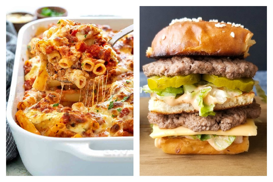 Weekly meal plan: 5 easy meals for the week ahead, including better-than-drive-thru fast food sliders. Yum!