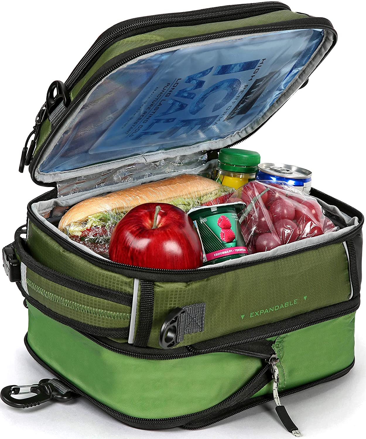 Arctic Zone lunch boxes are made with Microban, which can inhibit the growth of bacteria and viruses