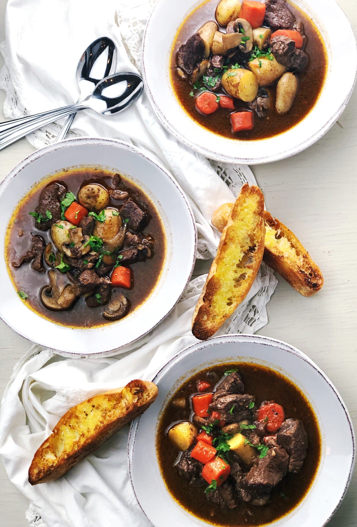 Weekly meal plan 225: Beef Bourguignon at Keeping It Simple