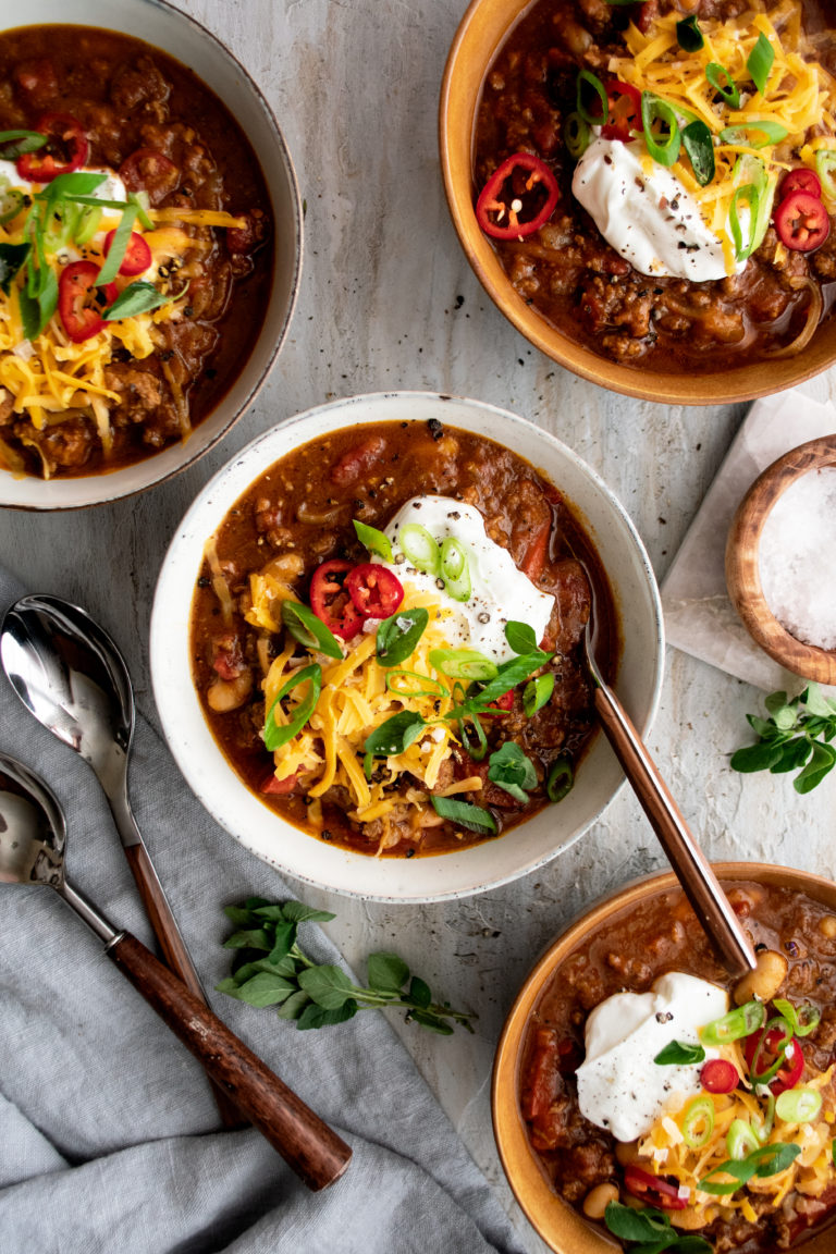 Creative pumpkin recipes for fall: Pumpkin Chorizo chili at The Original Dish