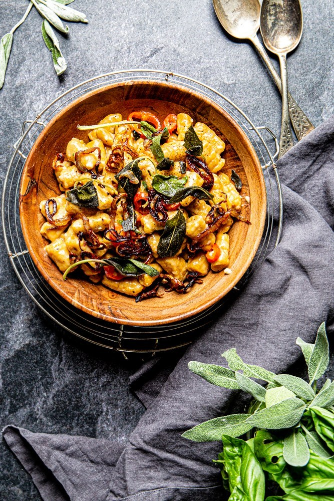 Creative pumpkin recipes for fall: Pumpkin gnocchi at Page and Plate