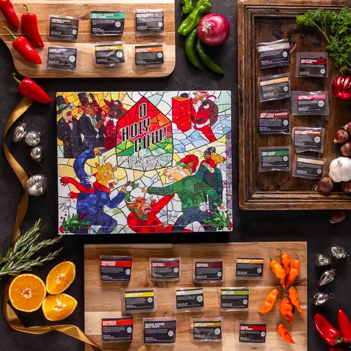 Best food Advent calendars of 2020: Beef jerky Advent calendar for adults from Man Crates