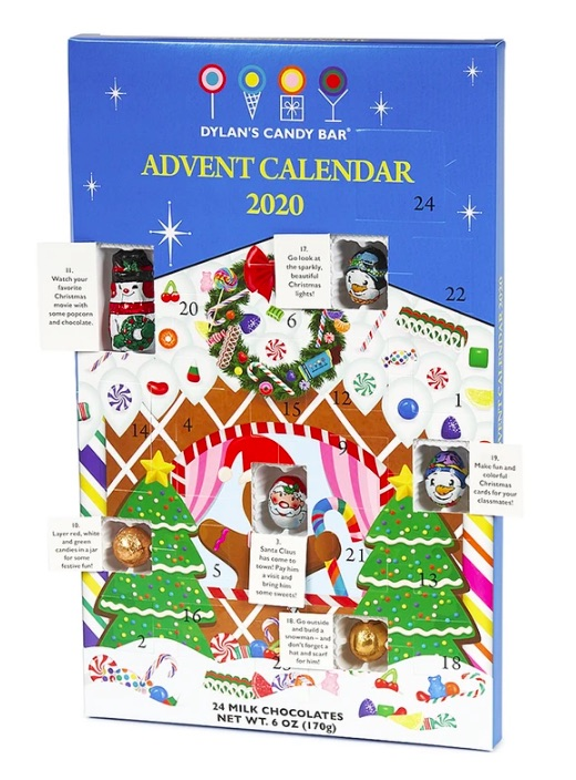 Best food Advent calendars of 2020: Dylan's Candy Bar Chocolate Advent Calendar for 2020