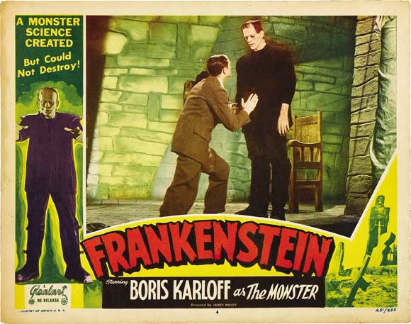 The original Frankenstein: perfect for a Halloween theme dinner
