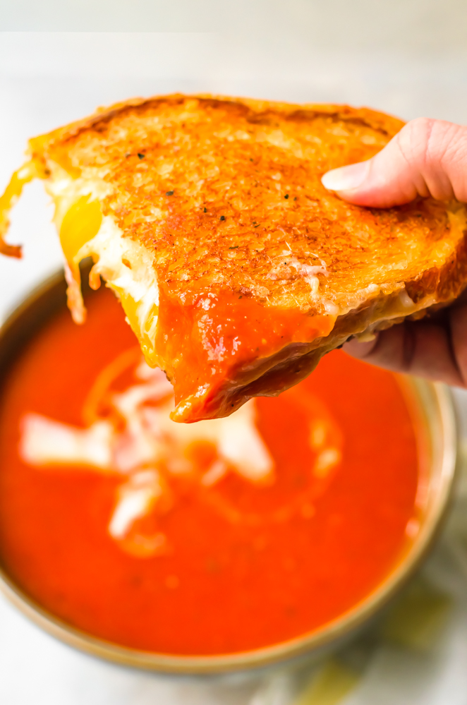 Weekly meal plan 227: Grilled Cheese & Tomato Soup at Phenomenal Phoods