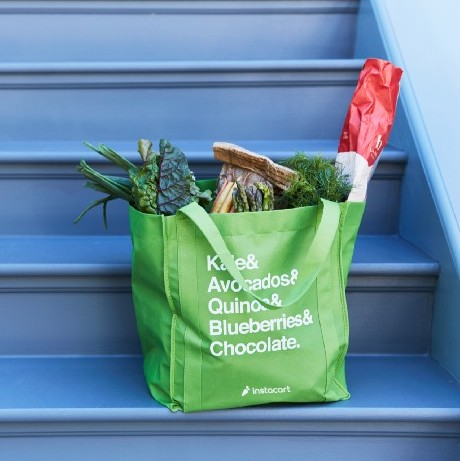 Save money on grocery shopping by using a service like Instacart