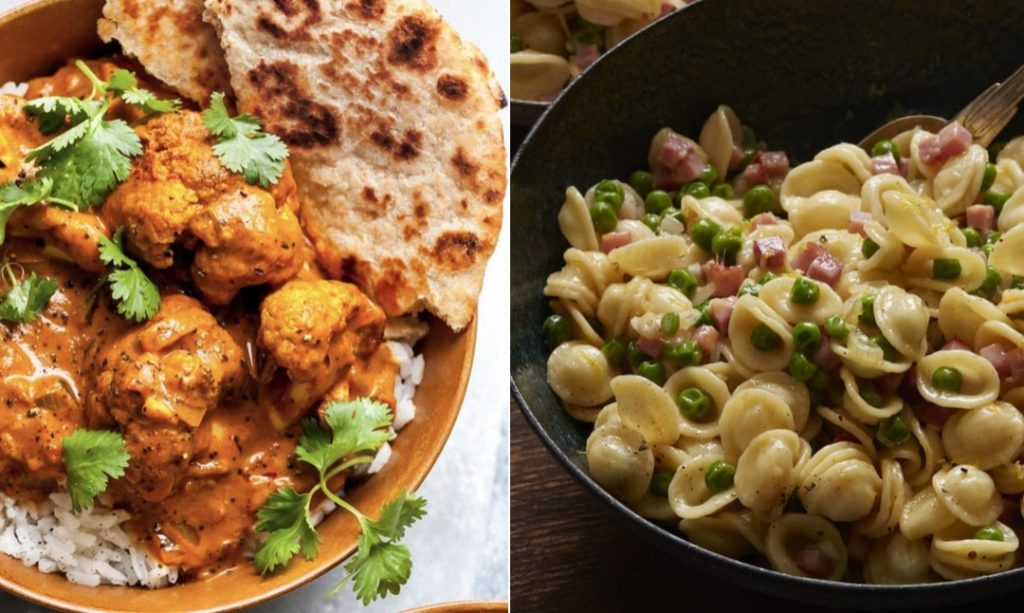 Butter cauliflower and ham-and-cheese pasta recipes for easier meal planning