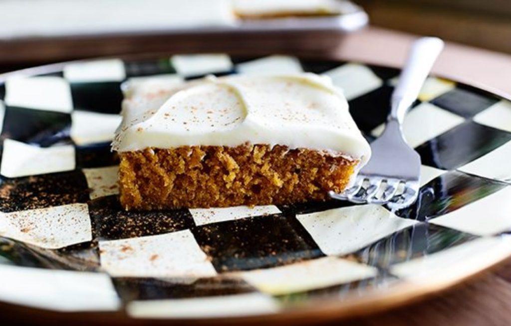 Pumpkin Sheet Cake via The Pioneer Woman