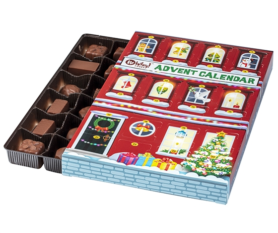 Best food Advent calendars of 2020: Vegan and nut-free Advent calendar from No Whey!