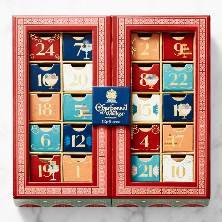Best food Advent calendars of 2020: Chocolate and truffles Advent Calendar from Charbonnel et Walker