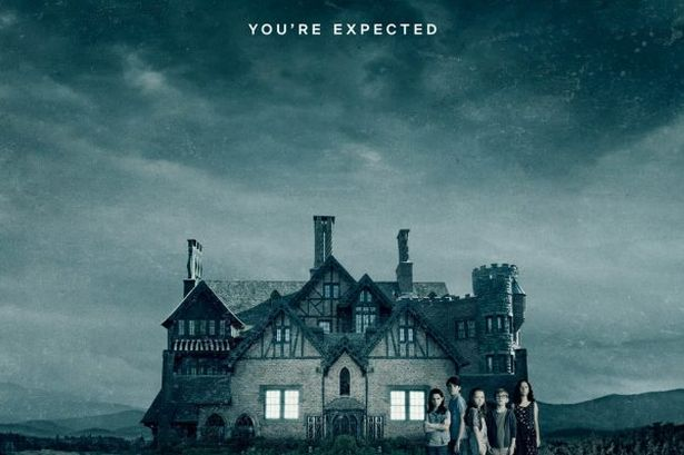 Haunting of Hill House Halloween dinner theme: The promo material from Netflix makes perfect place cards and invitations!