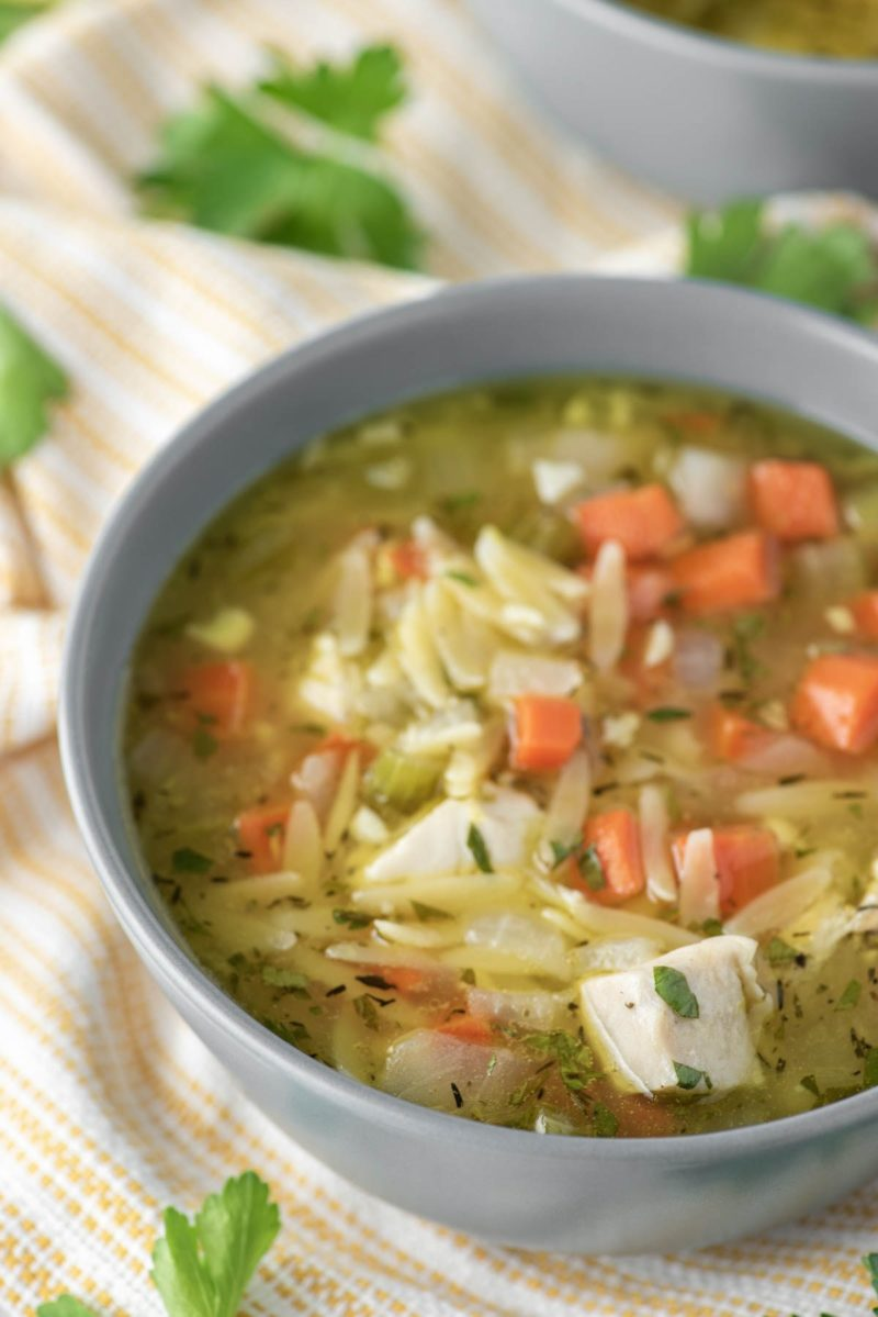 5 Immune boosting dinners: Lemon Chicken Orzo Soup at Chisel & Fork