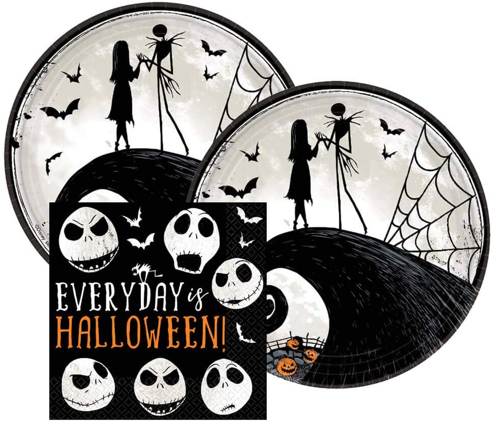 Nightmare before Christmas party supplies: Fun Halloween themed dinner parties