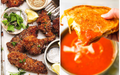 Dinners on a budget | Weekly meal plan 227: Chicken tenders at Lindsey Eats LA and grilled cheese at Phenomenal Phoods