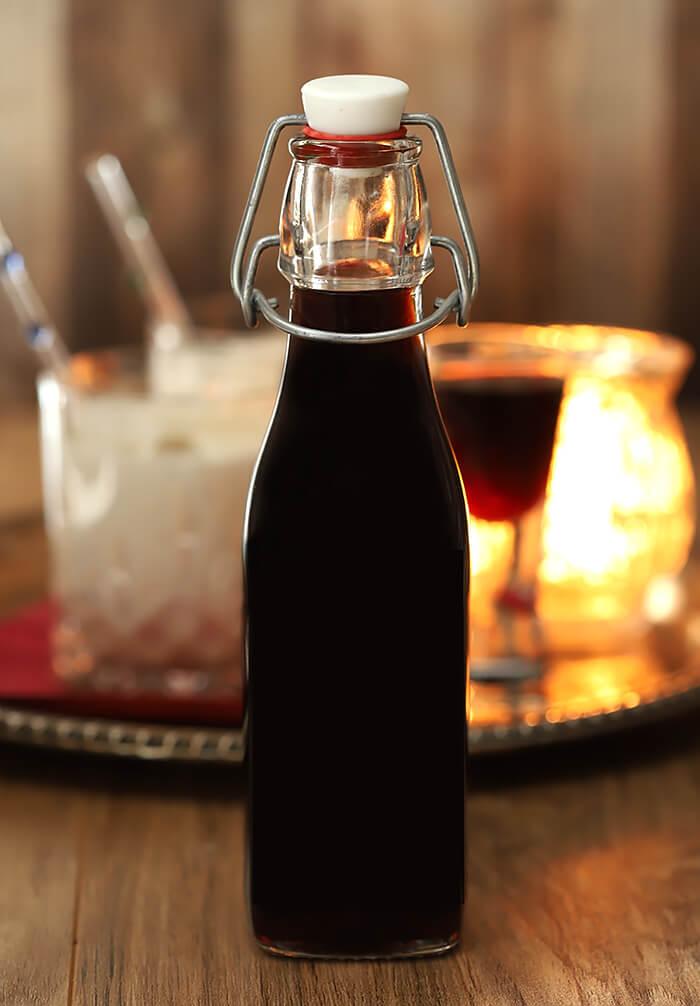 Make-ahead holiday gift idea: homemade coffee liqueur from Creative Culinary