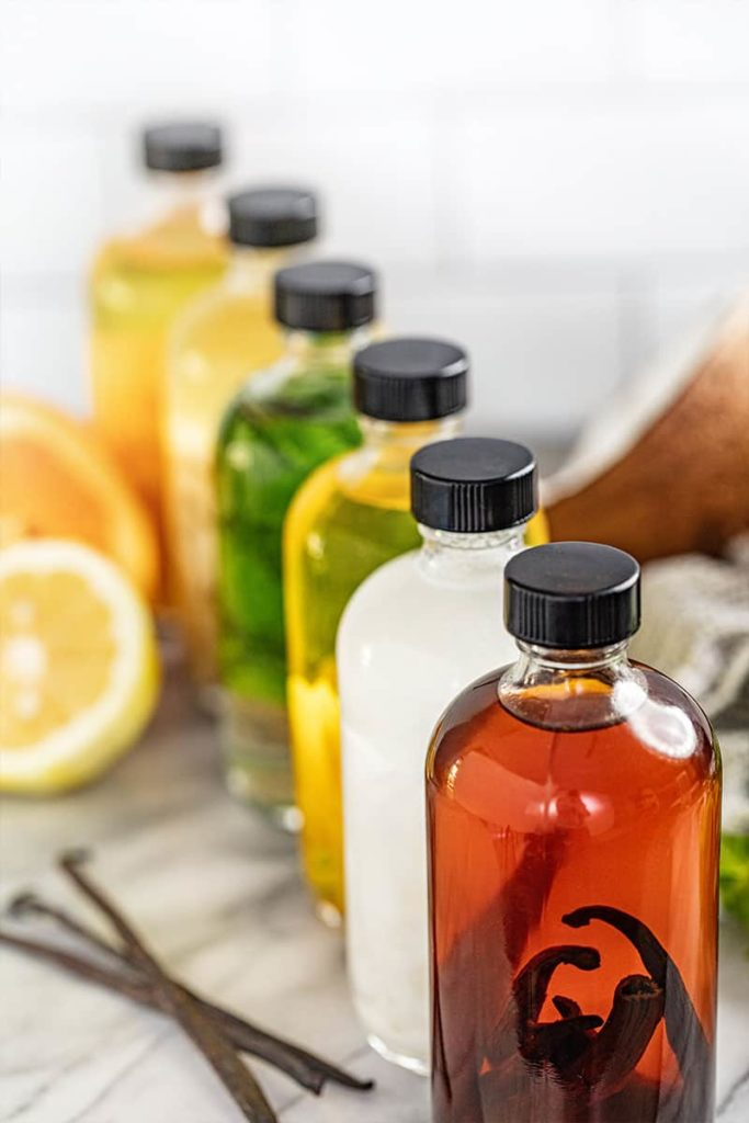 How to make homemade extracts for holiday gifts by The Stay At Home Chef
