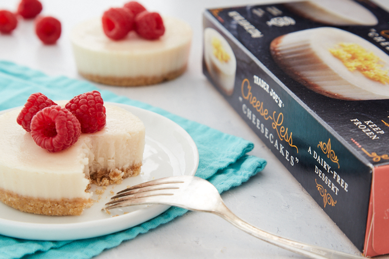 Trader Joes Cheese-Less Cheesecake for Thanksgiving 2020