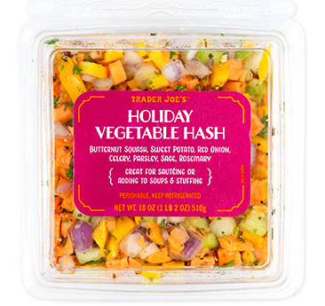 Trader Joe's Holiday Vegetable Hash for Thanksgiving 2020