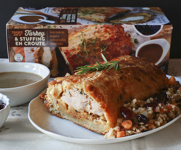 Trader Joe's Turkey en Croute for a smaller Thanksgiving dinner