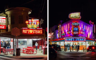 Authentic Philly cheesesteak recipes from Geno's and Pats. Good things happen in Philadelphia!
