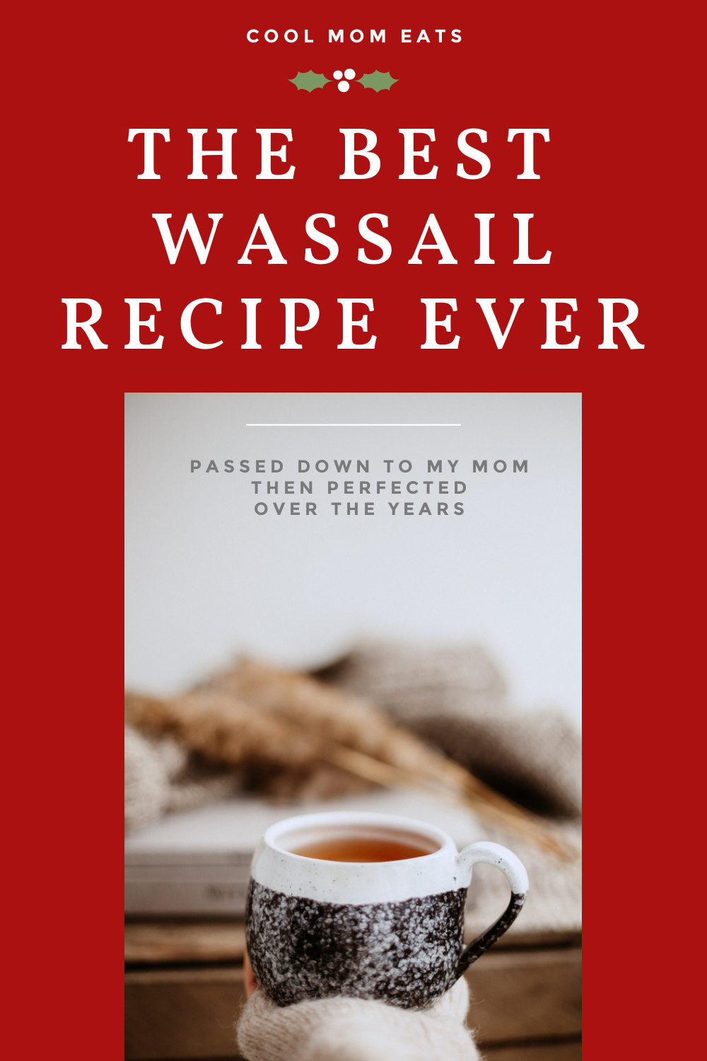 Best wassail recipe, passed down to my mom then refined over the years: by Kate Etue of Cool Mom Eats