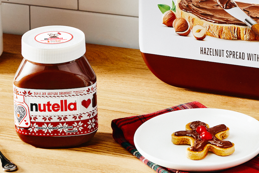 Get this Nutella pancake kit that helps kids in need? You don't have to ask us twice.