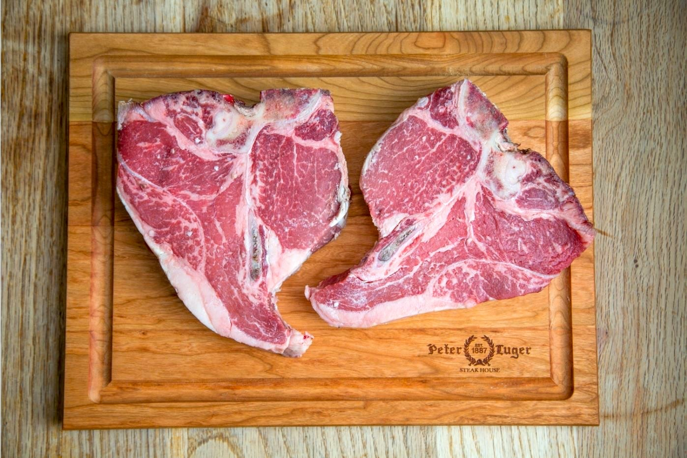 Best NYC food delivery gifts: Steaks from Peter Luger. Just prepare for sticker shock!