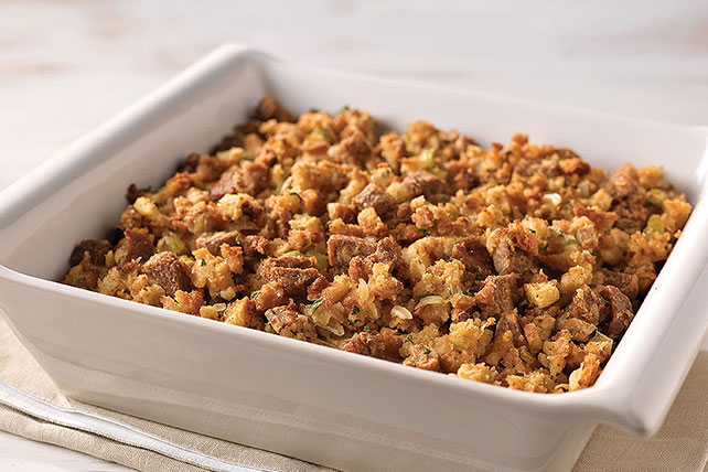 How to make Stove Top stuffing a semi-homemade Sidesgiving recipe star