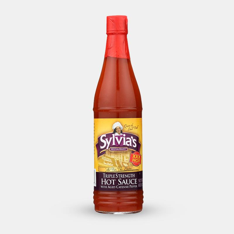 Best NYC food gifts: Sylvia's Triple Strength Hot Sauce
