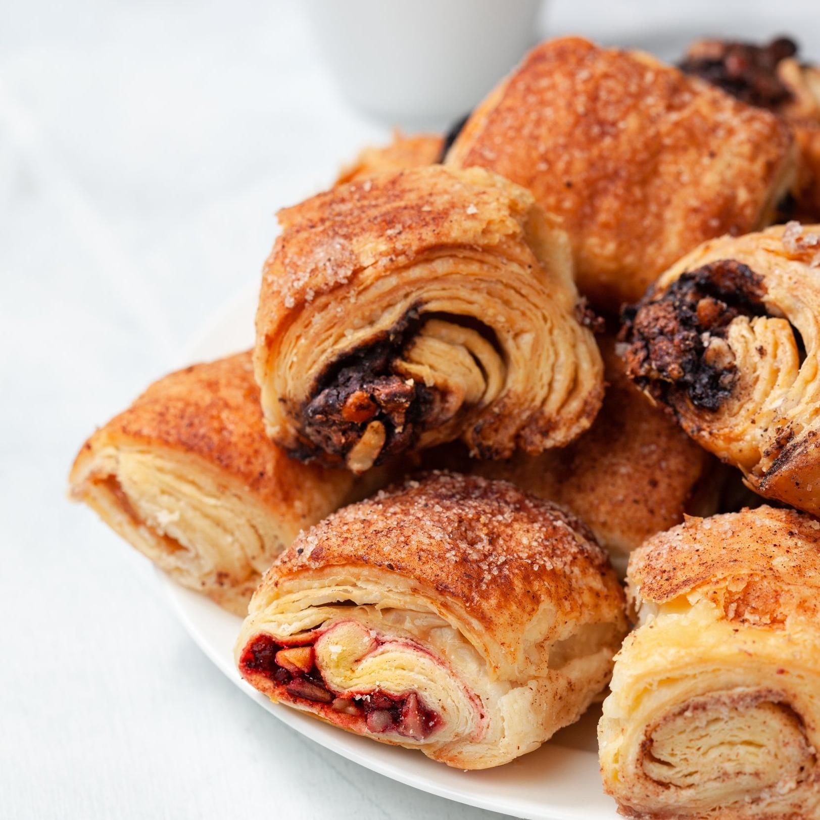 Best NYC food gifts: Cinnamon, chocolate, and raspberry rugelach from William Greenberg