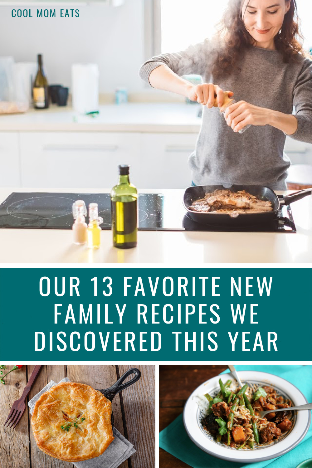 These are the favorite recipes we discovered this year for family dinners...and we'll be making again next year! | Cool Mom Eats