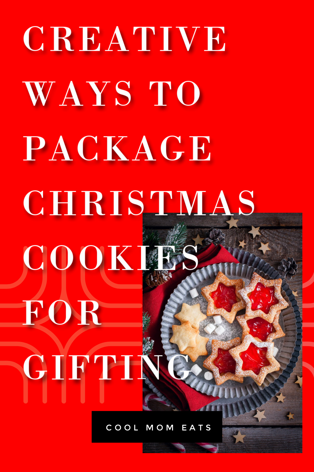 Creative ways to package Christmas cookies for gifting | Cool Mom Eats