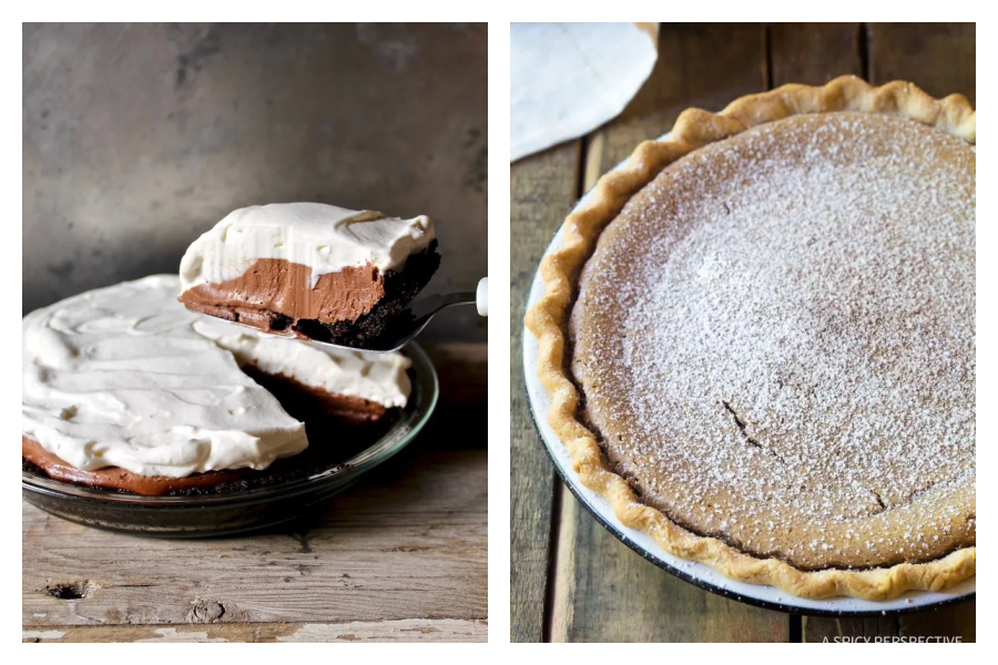 10 of our readers' favorite pie recipes for the holidays. They look SO good.