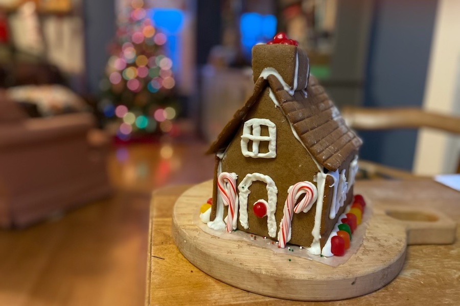 9 helpful tips for making a homemade gingerbread house. Learn from my successes….and uh, failures.