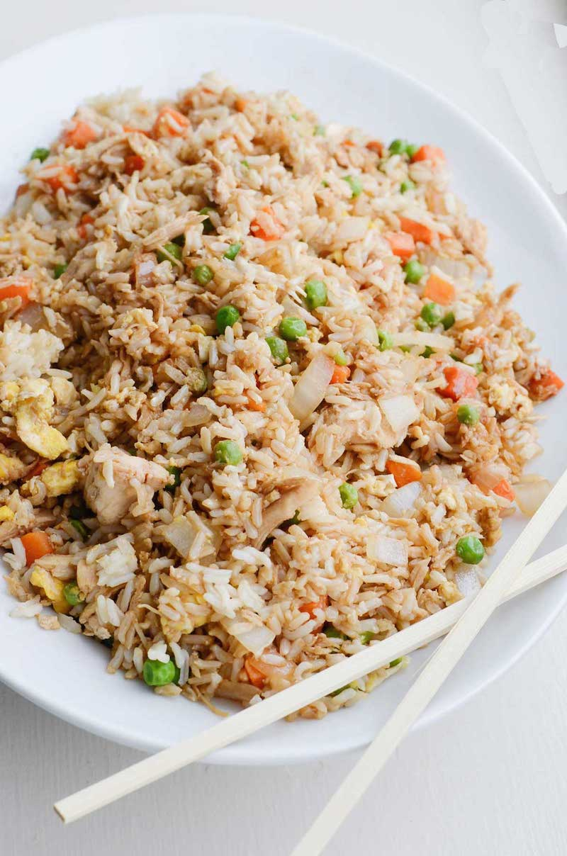 Weekly meal plan: Better than Takeout Fried Rice at Rachel Schultz