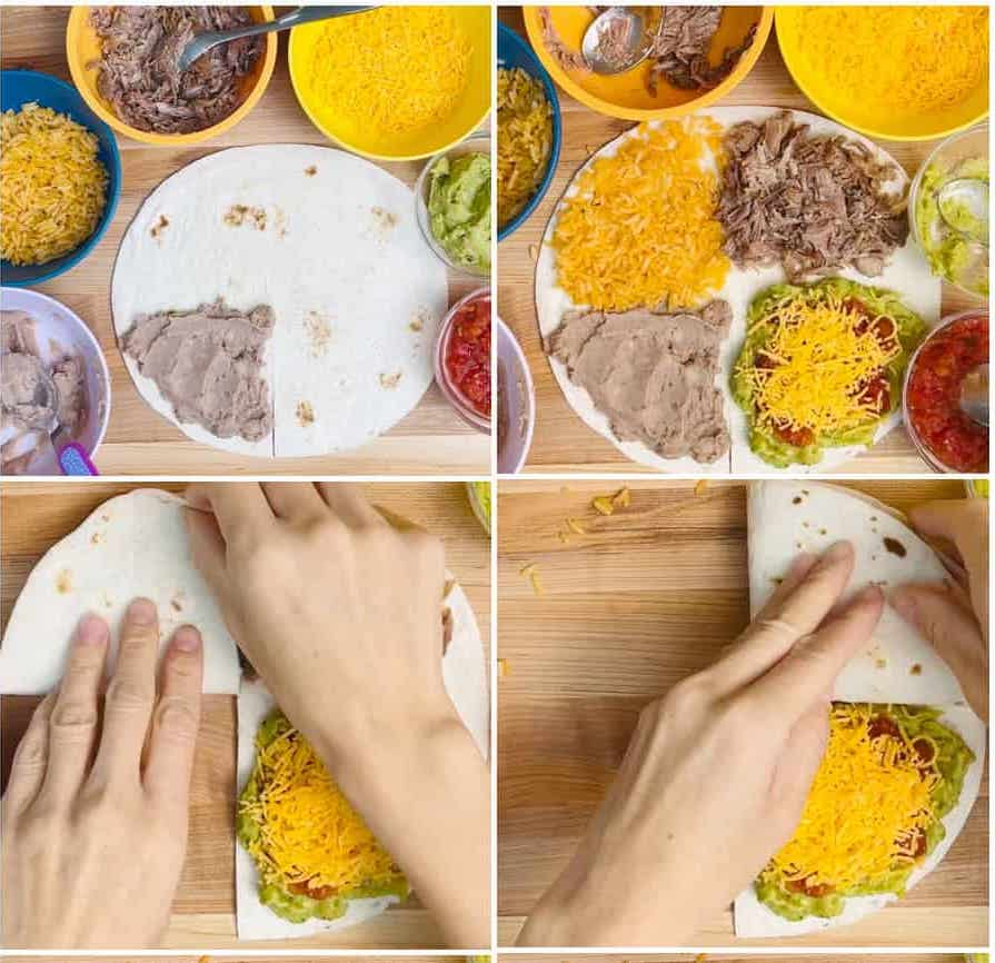 How to make a tortilla folded TikTok Sandwich hack with this recipe from Hello Yummy