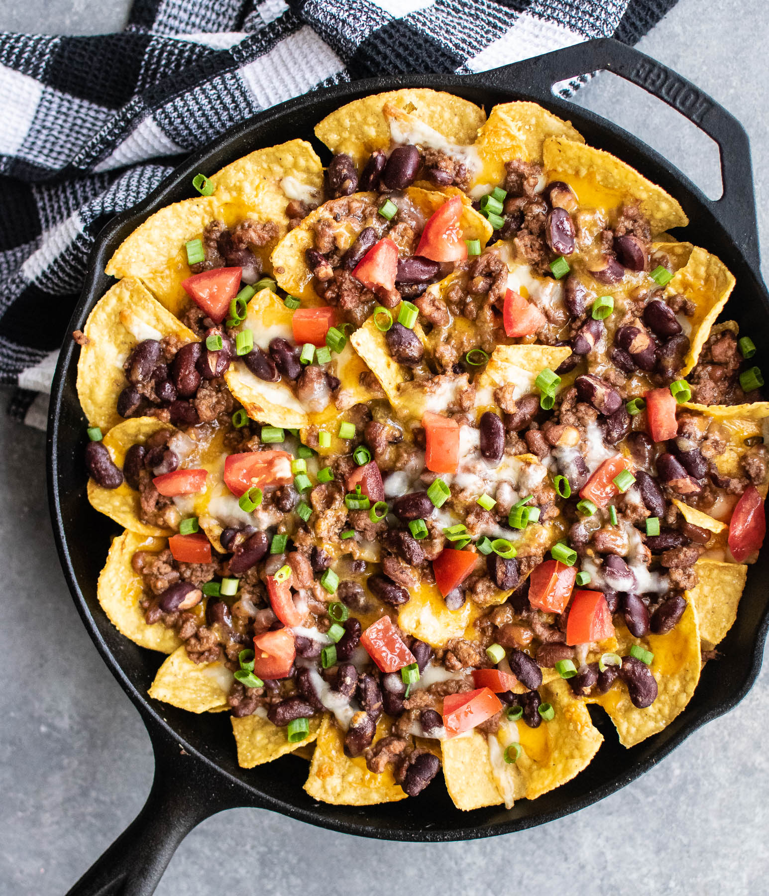 Creative DIY dinner ideas: Make your own nachos, like these baked chili nachos at Carolyn's Cooking.