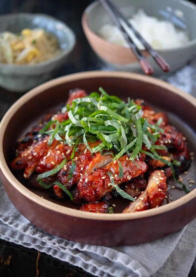 Weekly meal plan 5, easy prep-ahead meals: Korean Chicken Bulgogi at Beyond Kimchee